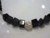Edelsteinkette mit Filigranen Silberkugeln, Zollamt-Galerie